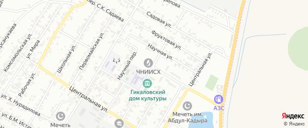 Улица Ленина на карте поселка Гикало с номерами домов