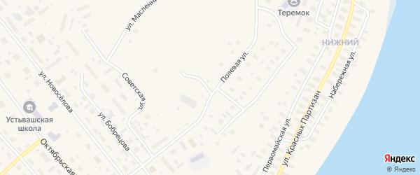 Полевая улица на карте Лешуконского села с номерами домов