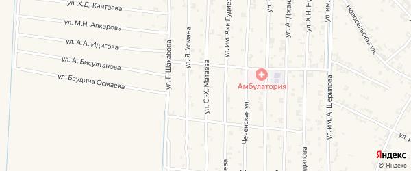 Новая улица на карте Ильиновская станицы с номерами домов
