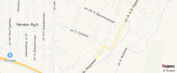 Садовая улица на карте поселка Гикало с номерами домов
