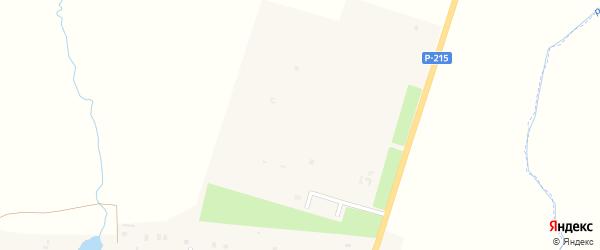 Зерновая улица на карте села Толстого-Юрта с номерами домов