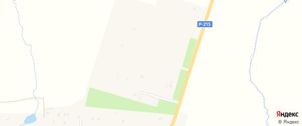 Виноградная улица на карте села Толстого-Юрта с номерами домов