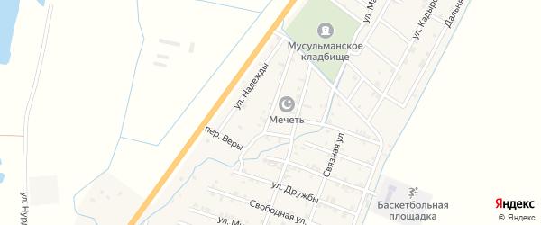 Улица Веры на карте села Белгатой с номерами домов
