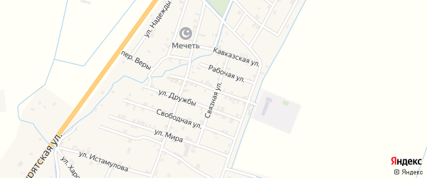 Улица Титова на карте села Белгатой с номерами домов
