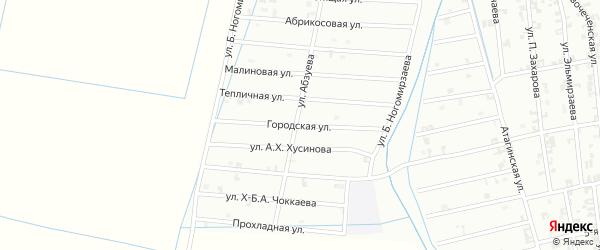 7 -я Олимпийская улица на карте Шали с номерами домов