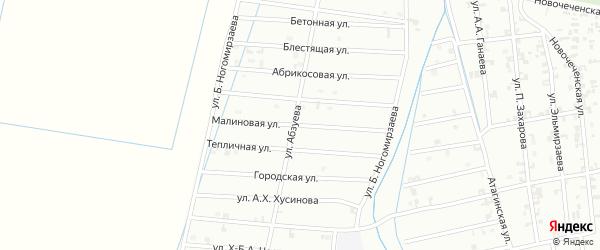 5-я Олимпийская улица на карте Шали с номерами домов