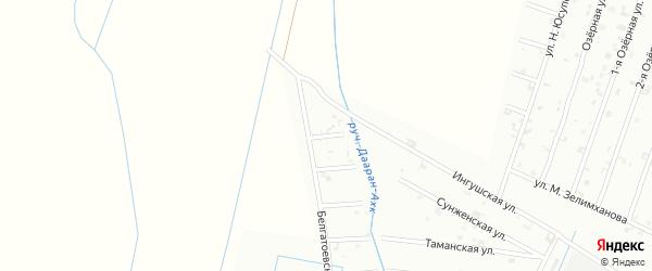 Улица И.Шахидова на карте Шали с номерами домов