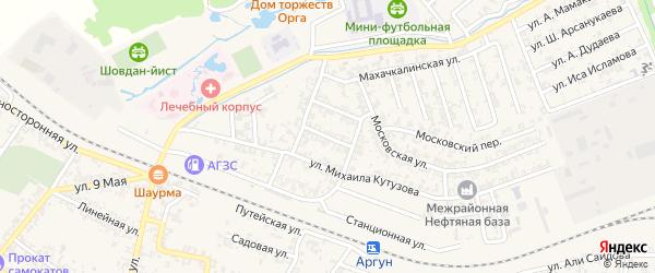 Улица Ф.Энгельса на карте Аргуна с номерами домов