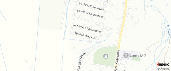 12-я Шалинская улица на карте Шали с номерами домов