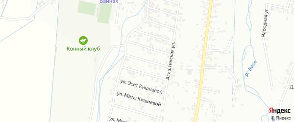6-я Шалинская улица на карте Шали с номерами домов