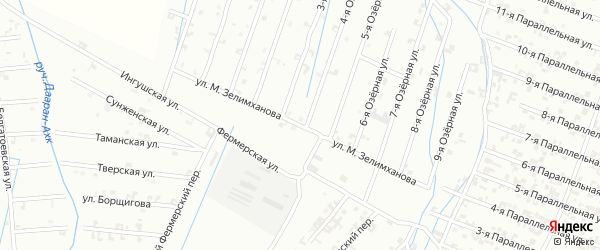 Улица М.Зелимханова на карте Шали с номерами домов