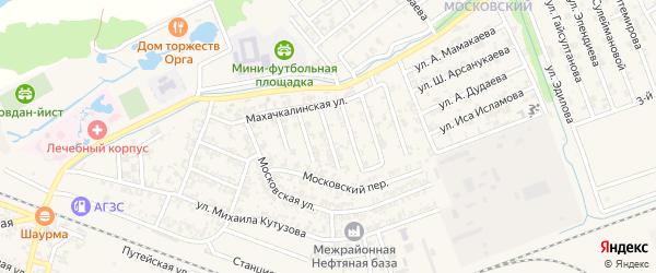 Хасавюртовская улица на карте Аргуна с номерами домов