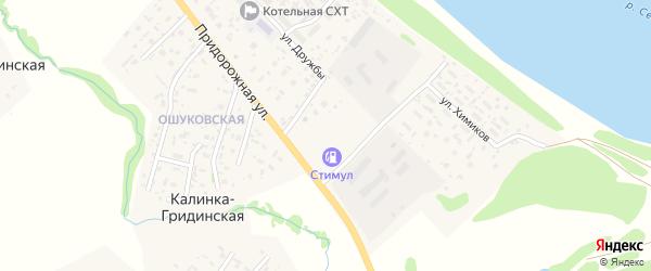 Луговой переулок на карте Фроловской деревни с номерами домов