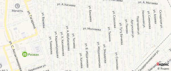 Улица А.Ибрагимова на карте Аргуна с номерами домов