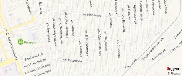 Улица Э.Мантаева на карте Аргуна с номерами домов