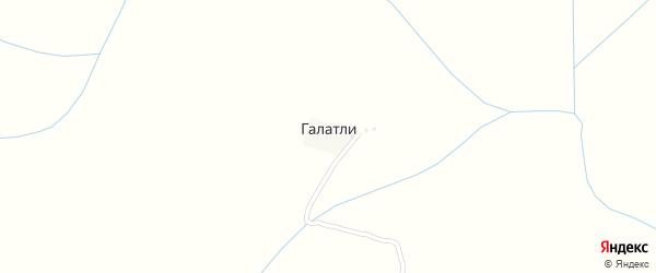Улица Закарьяева Магомеда Мусаевича на карте села Галатли с номерами домов