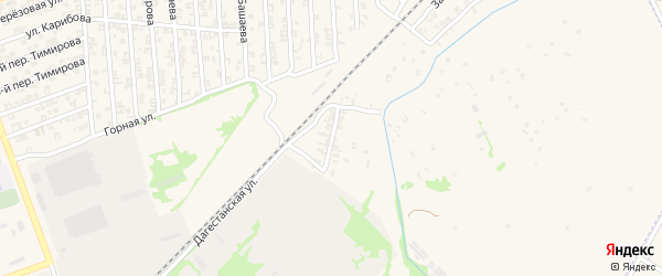 Дагестанская улица на карте Аргуна с номерами домов