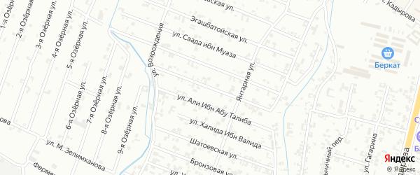 10-я Параллельная улица на карте Шали с номерами домов