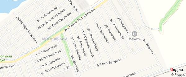 Улица В.Гойтемирова на карте Аргуна с номерами домов