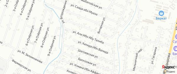 9-я Параллельная улица на карте Шали с номерами домов
