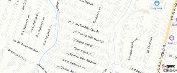 8-я Параллельная улица на карте Шали с номерами домов