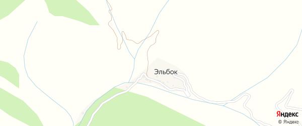 Пожарная улица на карте села Эльбка с номерами домов