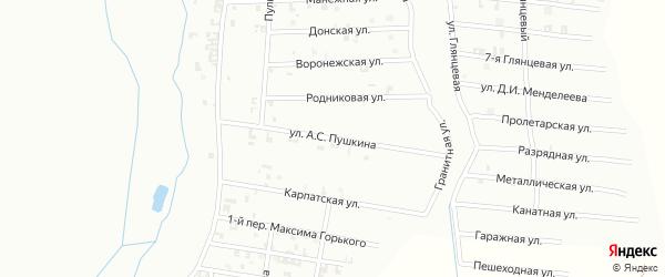 Греческая улица на карте Шали с номерами домов