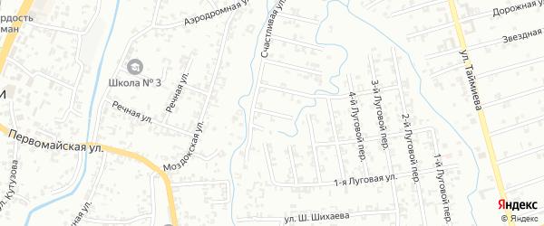 Улица 2-й Зенита на карте Шали с номерами домов