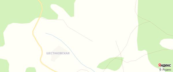 Карта Ивлевской деревни в Архангельской области с улицами и номерами домов