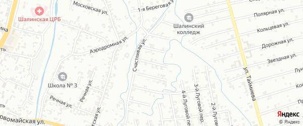 Переулок 5-й Зенита на карте Шали с номерами домов