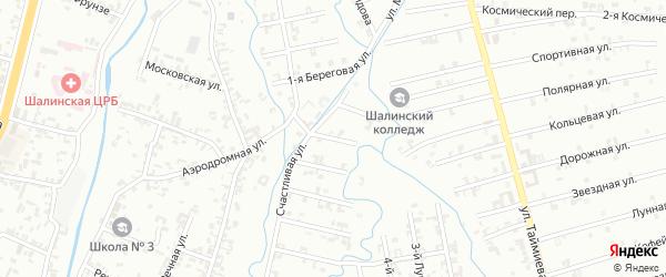 Переулок 7-й Зенита на карте Шали с номерами домов