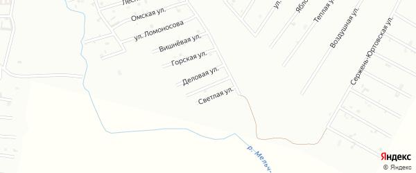Улица Мамакаева на карте Шали с номерами домов