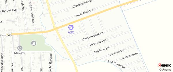 Улица 5-й Быстрый на карте Шали с номерами домов