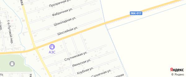 2-й Быстрый переулок на карте Шали с номерами домов