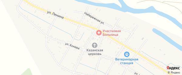 Площадь Мира на карте села Старицы с номерами домов