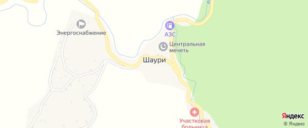 Улица Гаджиева Камиля Сиражудиновича на карте села Шаури с номерами домов