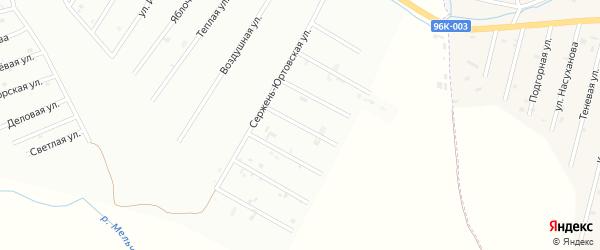3-й Сержень-Юртовский переулок на карте Шали с номерами домов