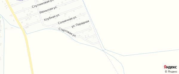 8-я Спутниковая улица на карте Шали с номерами домов