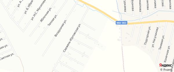 1-й Сержень-Юртовский переулок на карте Шали с номерами домов