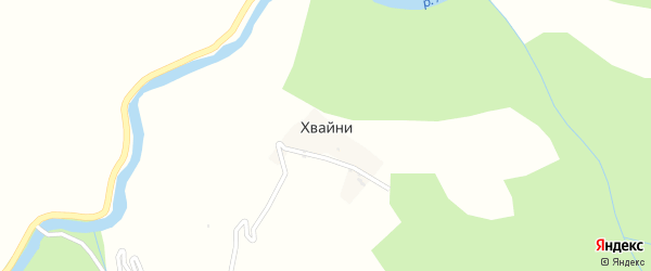 Улица Асхаба Абдуразакова на карте села Хвайни с номерами домов
