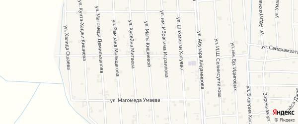 Улица Маты Кишиевой на карте села Автуры с номерами домов