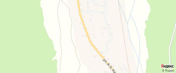 Улица Кадырова на карте села Сержень-Юрт с номерами домов