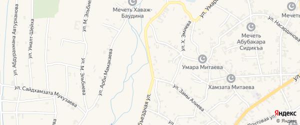 Объездная улица на карте села Автуры с номерами домов