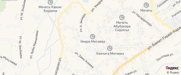 Улица им Черно Амалиева на карте села Автуры с номерами домов