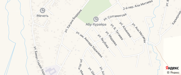 Улица им С.Солтагираева на карте села Автуры с номерами домов