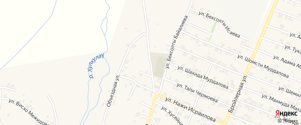 Улица Мовсара Кишиева на карте села Автуры с номерами домов
