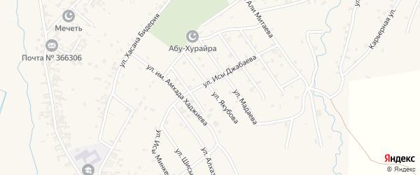 Улица им А.Якубова на карте села Автуры с номерами домов