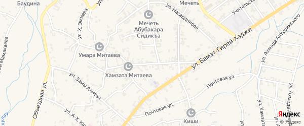 Улица им У.Джабраилова на карте села Автуры с номерами домов