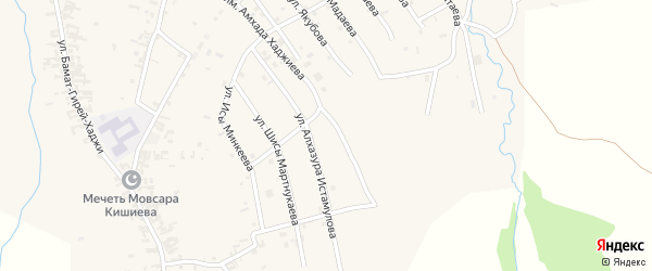 Южная улица на карте села Автуры с номерами домов
