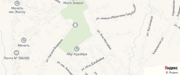 Улица им Саламу Тепсуркаева на карте села Автуры с номерами домов